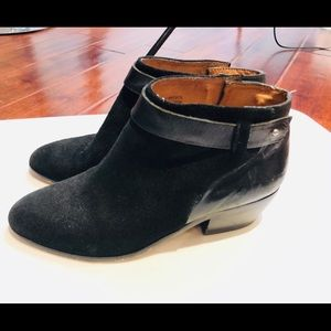 Madewell Charley Collar Stud Ankle Boots Size 7